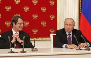 Putin'den Anastasiades'e mektup
