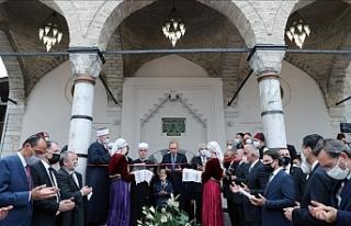 Saraybosna'daki Başçarşı Camisi, Erdoğan'ın...