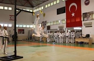 Taekwondocular Zafer Kupası için yarıştı