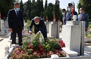 Tatar, Şehit Pilot Yüzbaşı Cengiz Topel'i anma...