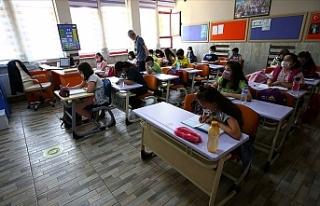 Türkiye'de yüz yüze eğitime ilişkin tedbirler...