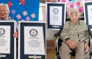 """107 yaşlarındaki Japon Umeno ile Kodama """"yaşayan..."""