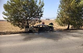 Alayköy yolu üzerinde kaza