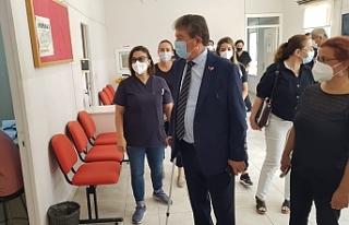 Bakan Üstel, Akdoğan Sağlık Merkezi, Vadili Sağlık...