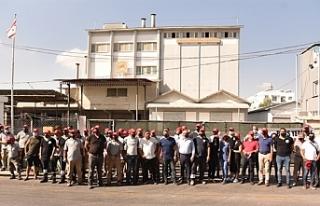 BİNBOĞA-YEM Ltd'de grev