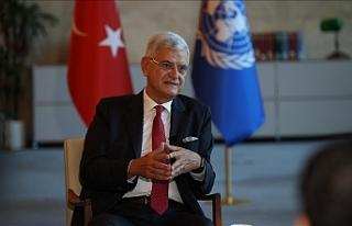 BM Genel Kurul Başkanlığını devreden Bozkır'dan...