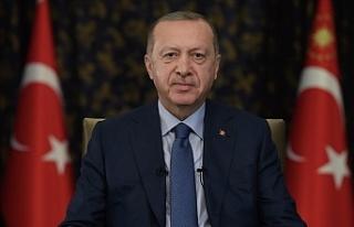 """Erdoğan: """"Önümüzde büyük ve güçlü Türkiye'yi..."""