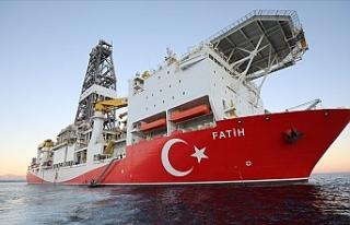 Fatih gemisi Türkali-5'te sondaja başladı