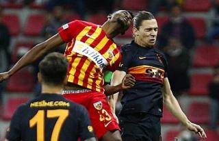 Galatasaray'a Kayseri'de şok