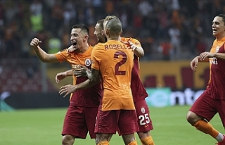 Galatasaray, UEFA Avrupa Ligi'ne 3 puanla başladı