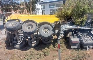 Gazimağusa Anayolu üzerinde kaza