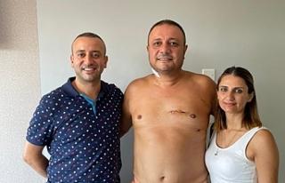 Kıbrıs'ta ilk defa kapalı kalp ameliyatı yöntemiyle...