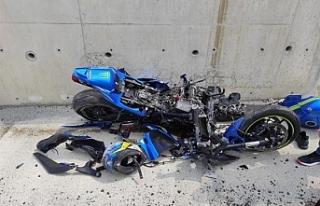 Lefkoşa Kuzey çevre yolu üzerinde kaza