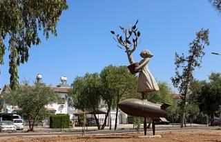 Lefkoşa'nın yeni heykelleri