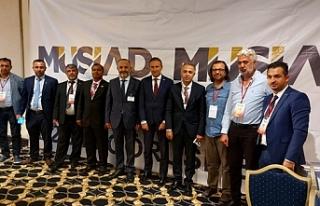 MÜSİAD Kayseri heyeti KKTC'de