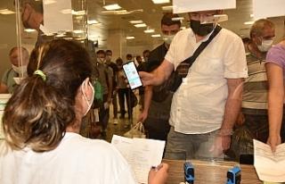 QR kodlu form dolduran yolcu sayısı düşük