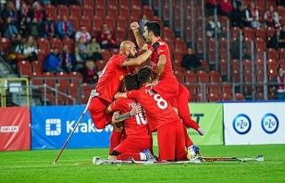 Türkiye Ampute Futbol Milli Takımı üst üste ikinci...