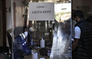 Türkiye'de 27 bin 197 kişinin Kovid-19 testi...