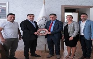 Türkiye Güreş Federasyonuna ziyaret
