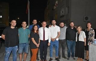 DP Taşkınköy örgüt binası açıldı