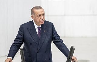 """Erdoğan: """"Yeni anayasa milletimize vereceğimiz..."""