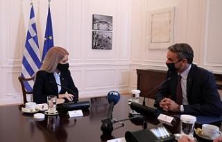 Rum Meclis Başkanından Atina'da temaslar