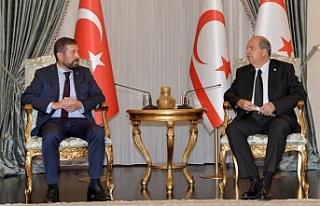 Tatar, Balıkesir Sındırgı Belediye Başkanı'nı...