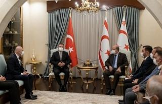 """Tatar: """"Kıbrıs Türk halkının egemenliğinin..."""