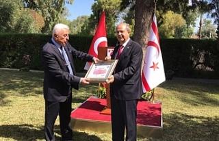 Tatar, Türkiye Muhtarlar Federasyonu'nu kabul etti