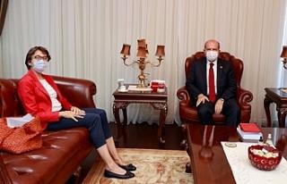 Tatar, yeni Alman Büyükelçisini kabul etti