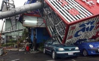 Japonya'da Krosa tayfunu: 1 ölü, 50 yaralı