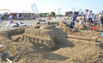 """DAÜ Kumdan Heykel Festivali ve Yarışması""""nın on üçüncüsü gerçekleştirildi"""