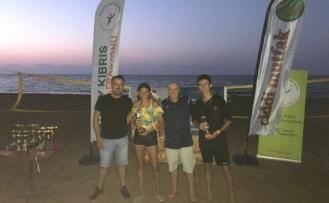 Ciddi Mutfak Beach Tennis Tour karşılaşmaları tamamlandı