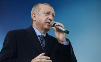 """Erdoğan: """"Daha güçlü bir gelecek için azmimizi yeniliyoruz"""""""