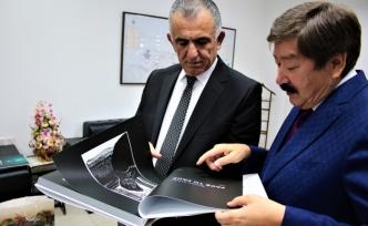 Çavuşoğlu, TÜRKSOY Genel Sekreterini kabul etti