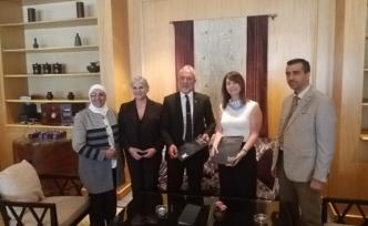 GAÜ, Filistin Al-Rawdah Technical Community College ile işbirliği anlaşması imzaladı