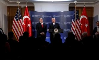 """Pence: """"ABD ve Türkiye Suriye'de ateşkes için anlaştı"""""""