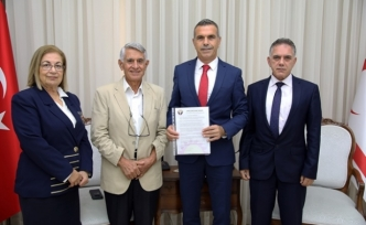 Uluçay, Kıbrıs Türk Diyabet Derneğini  kabul etti