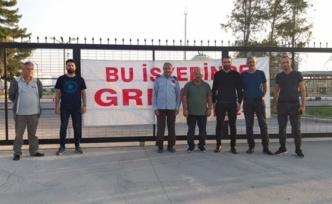Bağımsızlık Yolu'ndan greve destek