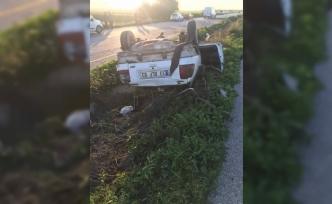 Turunçlu – İnönü kavşağı yakınlarında kaza: 2 yaralı