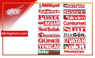 Türkiye Gazetelerinin Manşetleri - 15 Ocak 2021