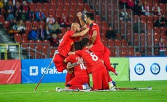 Türkiye Ampute Futbol Milli Takımı üst üste ikinci kez Avrupa Şampiyonu