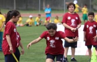 1. Çocuk Atletizmi Şenliği tamamlandı