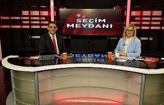"""GENCAY EROĞLU, GENÇ TV'DE """"ER MEYDANI"""" PROGRAMINA KATILDI"""