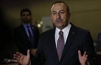 """Çavuşoğlu: """"Her iki halk tarafından adil şekilde paylaşılsın"""""""