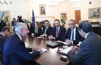 CTP heyeti Anastasiades ile görüştü