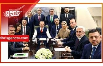 """Erdoğan: """"Akdeniz'de kararlıyız bizi zora sokmayın"""""""