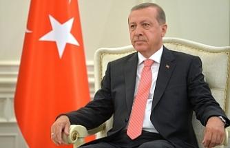 """Erdoğan: """"Kıbrıs'ta  çözüme ulaşılması tüm Doğu Akdeniz için son derece kıymetlidir"""""""