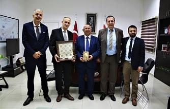 Özyiğit, Bosna Hersek Eğitim, Bilim, Kültür ve Spor Bakanı ile görüştü