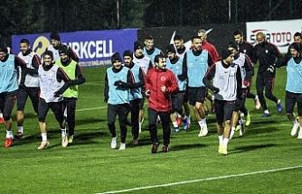 Ukrayna maçı hazırlıkları devam ediyor